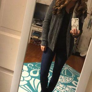 Gray Knit Sweater!